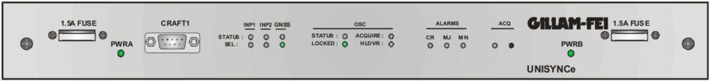 unisynce 1u front panel schematics